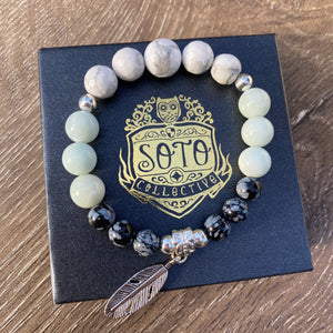 Emotional Cleanse crystal bracelet