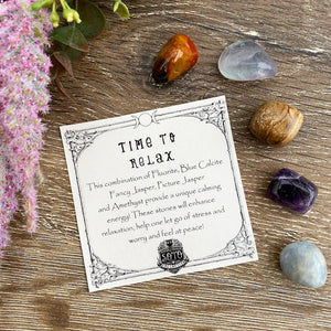 Time to relax - crystal healing pack