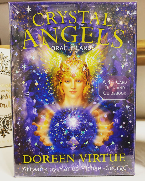 Crystal Angels oracle cards - Doreen Virtue