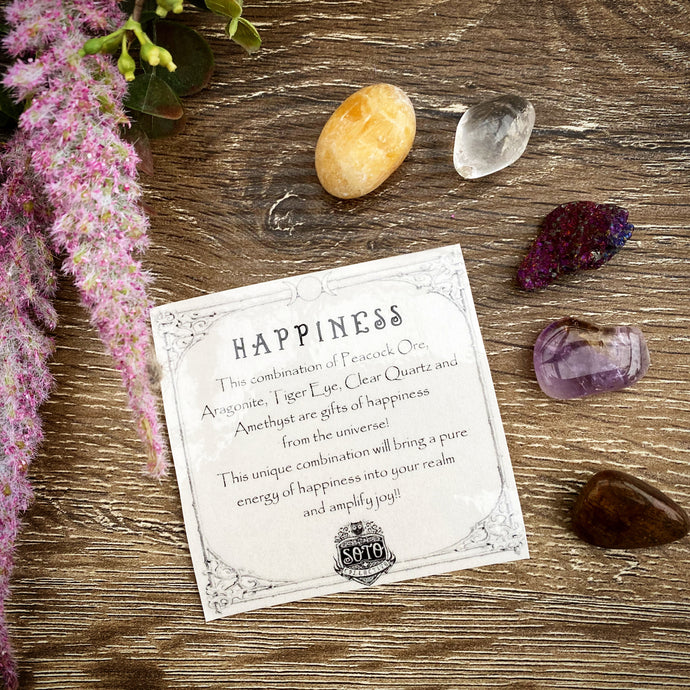 Happiness - crystal healing pack