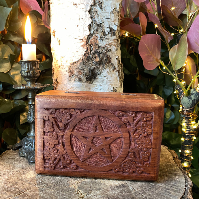 Pentacle keepsake box