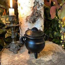 Load image into Gallery viewer, Cast iron cauldron - small