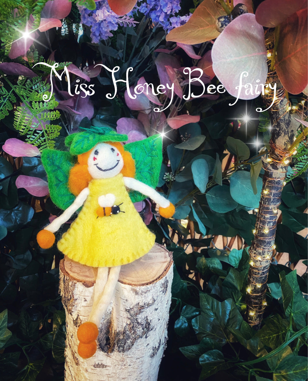 Honey Bee - Felt Fairy