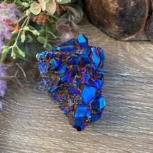 Load image into Gallery viewer, Rainbow Titanium Aura crystal cluster