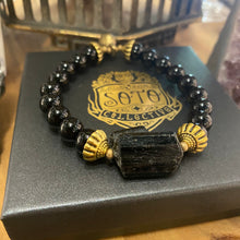 Load image into Gallery viewer, Black Tourmaline bracelet