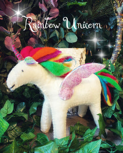 Rainbow - Felt Unicorn