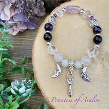 Load image into Gallery viewer, Priestess of Avalon - crystal bracelet