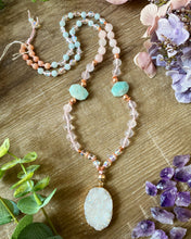 Load image into Gallery viewer, Angel Aura Mala Necklace