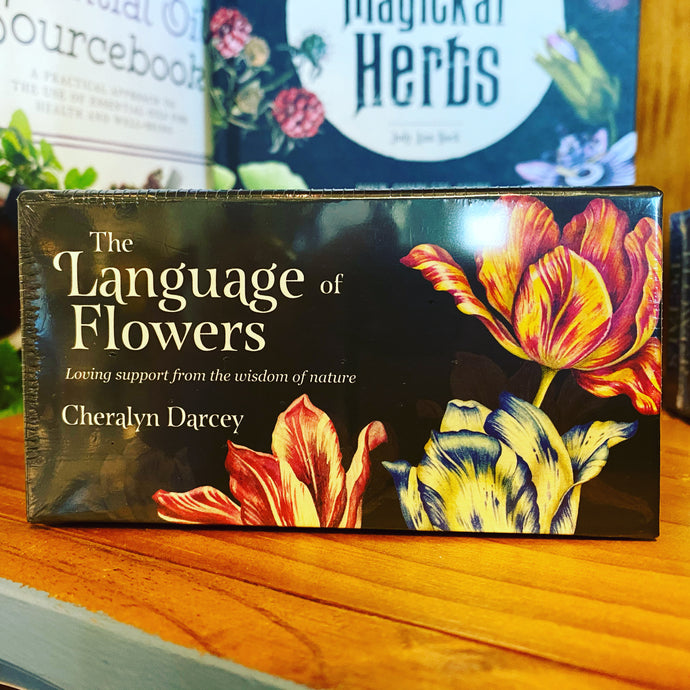 The language of flowers - Affirmation cards
