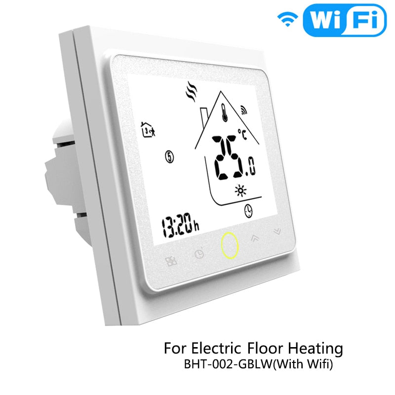 Smart WiFi Thermostat Temperature Controller Electric floor heating Works  with Alexa Echo Google Home Tuya