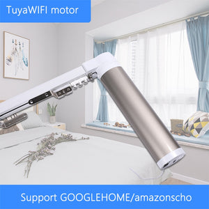 Tuya intelligent curtain motor 110-240V silent electric curtain track smart home electric curtain support GOOGLEHOME, Amazonec