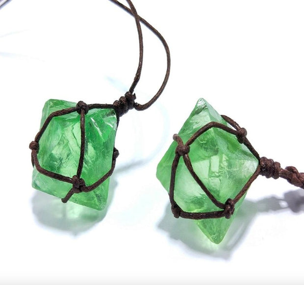 Entwined Fluorite Necklace - Spiritual Wear