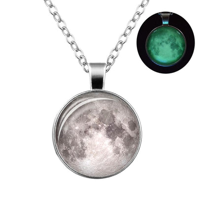 Luminous Divine Moon Necklace - Spiritual Wear