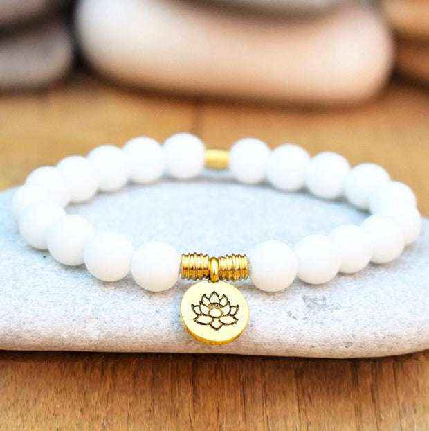 Natural White Shell Bracelet - Spiritual Wear