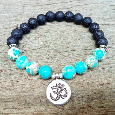 Om Earth Bracelet - Spiritual Wear