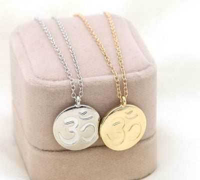 Om Oneness Necklace - Spiritual Wear
