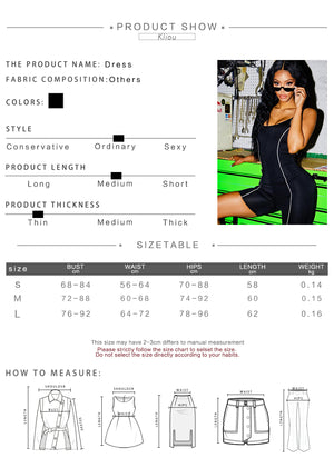 DIDK Womens Letter Print Thick Strap Skinny Bodysuit