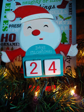 Load image into Gallery viewer, Santa Christmas Countdown