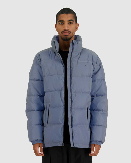 Mens Track Puffer Jacket