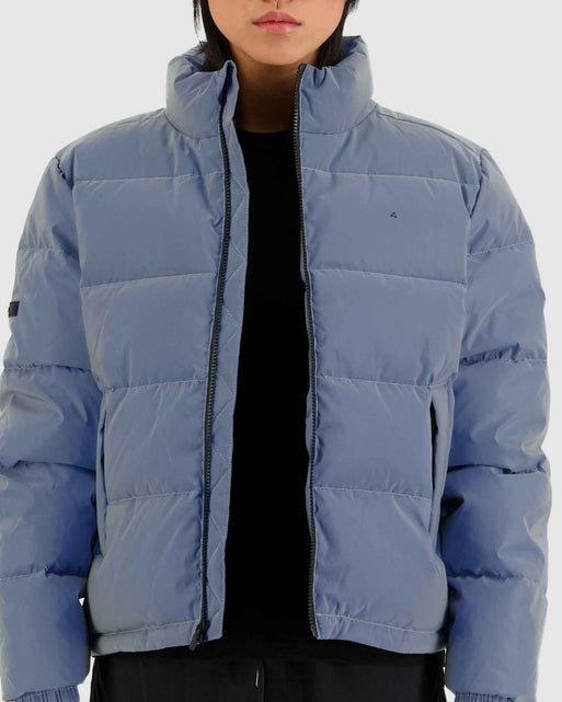 Womens Track Puffer Jacket
