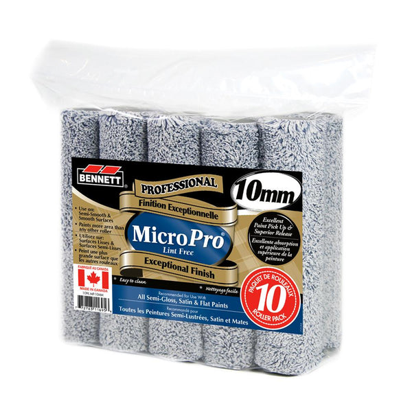 Professional MicroPro Lint Free Roller - 10 Pack