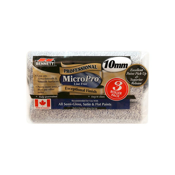 Professional MicroPro Lint Free Roller - 3 Pack