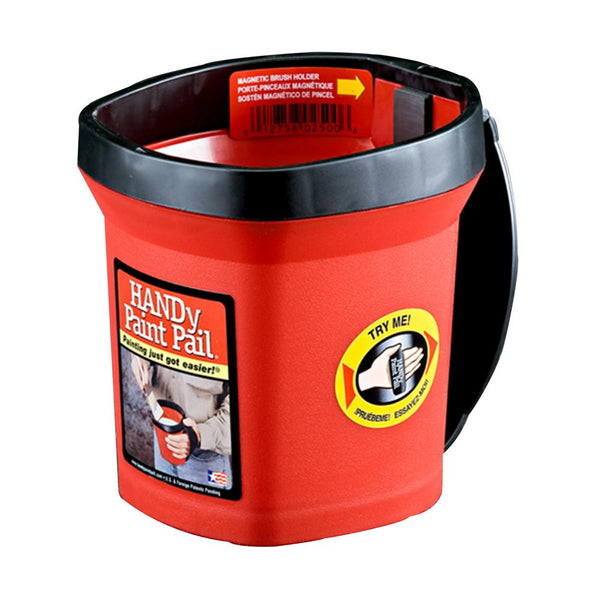Handy Paint Pail, Cut Cup