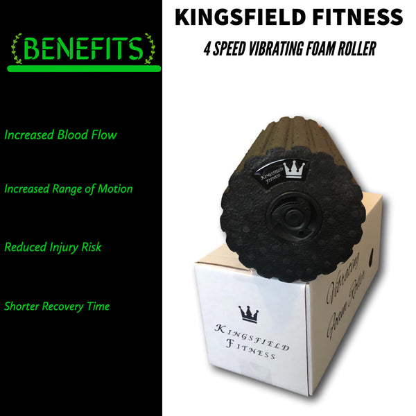 Kingsfield Fitness - Vibrating Foam Roller vs Traditional Foam Roller - A Study Done by Researchers at UNC
