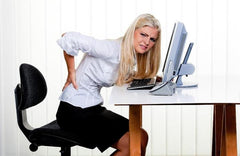 Sitting behind desk all day will lead to muscle imbalances