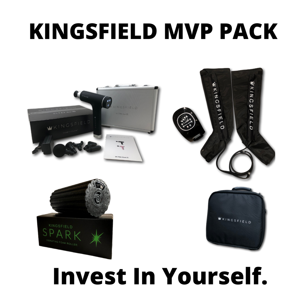 Kingsfield ULTRA gun Slim Kingsfield Spark and Kingsfield Recovery Boots
