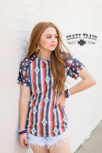 American Bash Top by Crazy Train