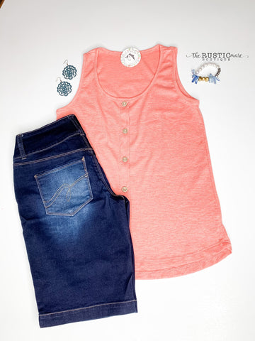 Dusty Coral Tank Top