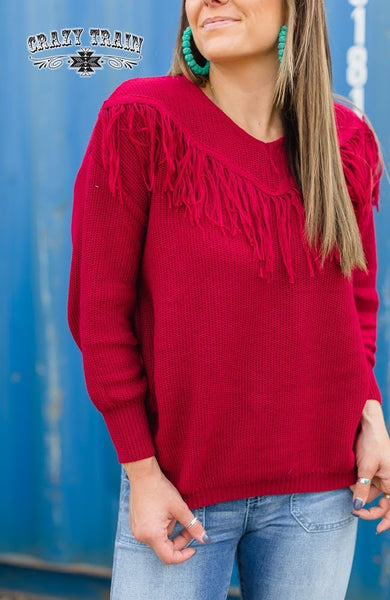 Vaquero Vibes Sweater by Crazy Train
