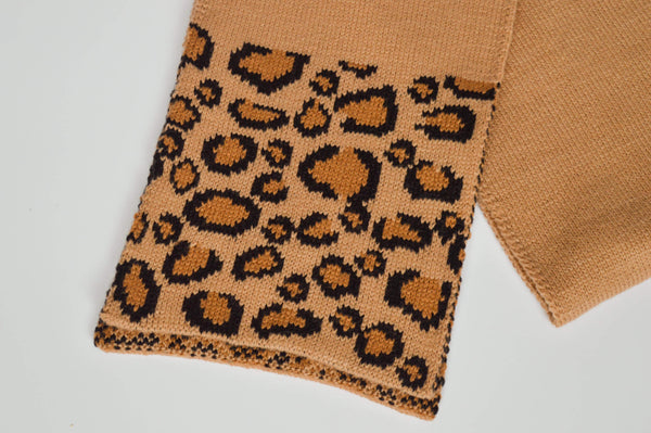 Leopard Print Scarf. Perfect accent to any top