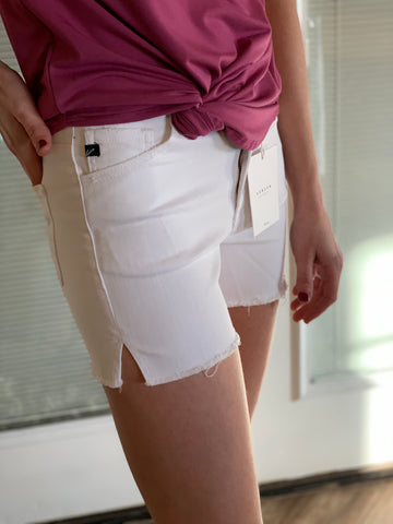 KanCan White Jean Shorts with super stretch