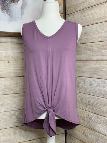 Sleeveless Lavender Tank Top