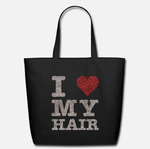 I Love My Hair: Sparkle Tote