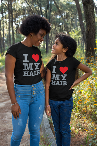 I Love My Hair: Sparkle t-shirt