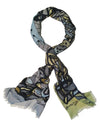 Live Laugh Love Fashionable Scarf for Women Soft Modal Tie