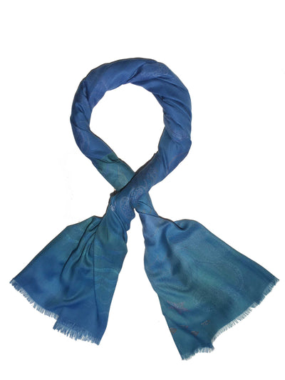Blue Mermaid Scarf Fashionable Soft Women's Fashion