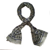 Green Turtle Scarves for Women Soft Modal Tie