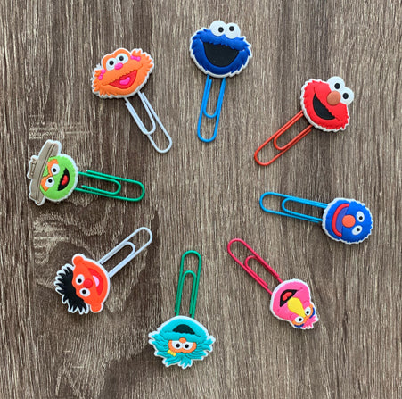 Sesame Street Bookmarks - Pandicorn Factory