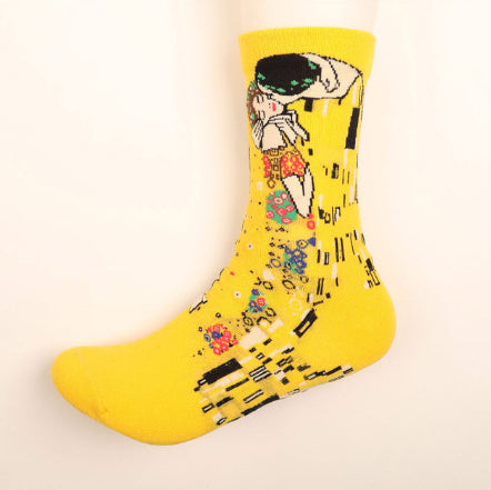 Gustav Klimt Painting Socks - Pandicorn Factory