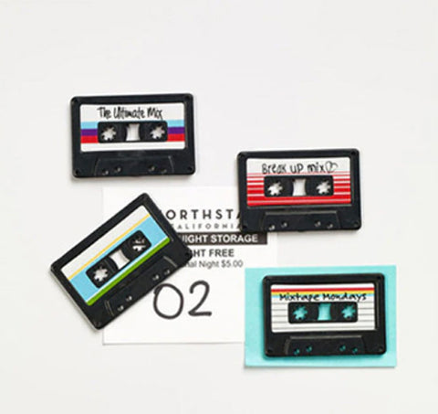 Cassette Tape Fridge Magnet - Pandicorn Factory