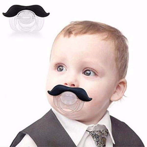 Mustache Baby Pacifier - Pandicorn Factory