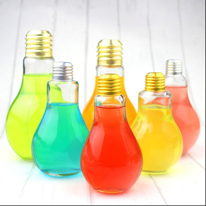 Light Bulb Bottles - Pandicorn Factory