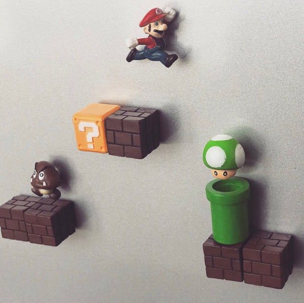 Super Mario Fridge Magnet - Pandicorn Factory