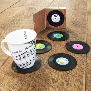 Vinyl Record Coasters - Pandicorn Factory