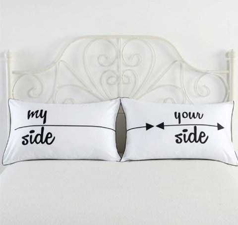 Couples My Side Pillow Case - Pandicorn Factory