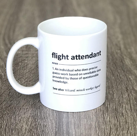 Flight Attendant Mug - Pandicorn Factory